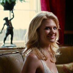 Emma smiling.