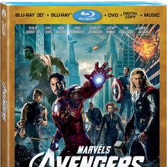 Marvel's <i>The Avengers</i> 4-Disc 3D Blu-ray Combo Pack