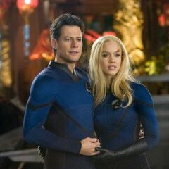 Mr. Fantastic and the Invisible Woman.