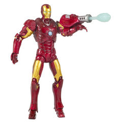 Iron Man, Mark 03<br />includes a launching repulsor blast