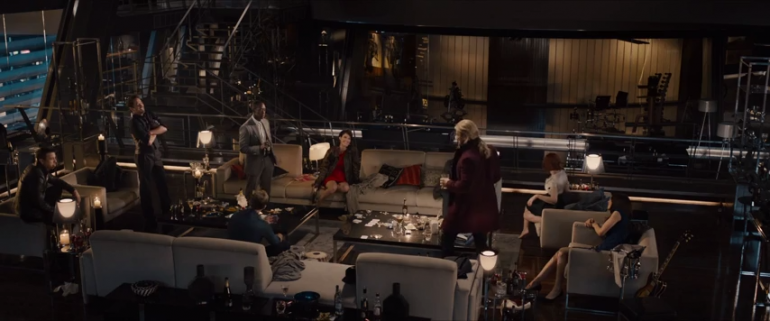Avengers Age Of Ultron Drinking Gif