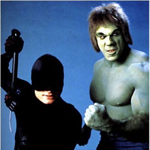 Daredevil and Hulk