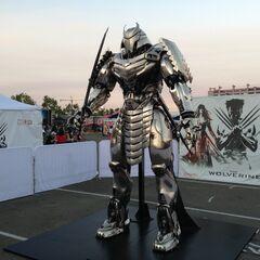 Silver Samurai armor in Comic-Con 2013
