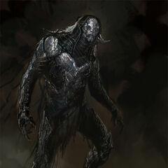 Concept art of Kurse from <i>Thor: The Dark World</i>.