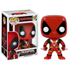 Deadpool with two swords