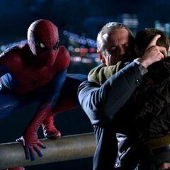 Spider-Man after saving Jack.