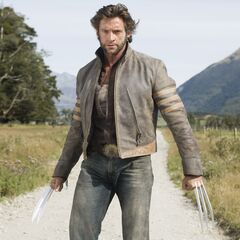 Wolverine in his Jacket