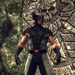 X-Force Wolverine costume in the game