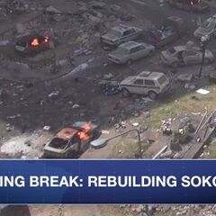 Group of college students decide to spend their spring break volunteering in Sokovia. All this & more on #Newsfront