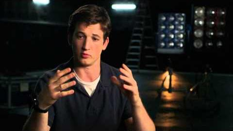 "The Fantastic Four Miles Teller ""Reed Richards"" Behind the Scenes Movie Interview -2015"