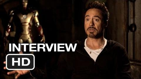 Iron Man 3 Interview - Robert Downey Jr