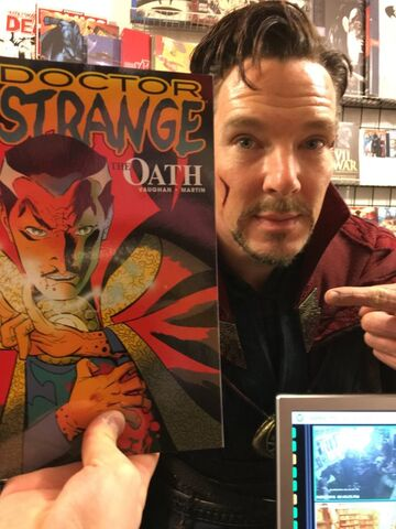 File:Doctor Strange Comic Book Store Promo.jpg