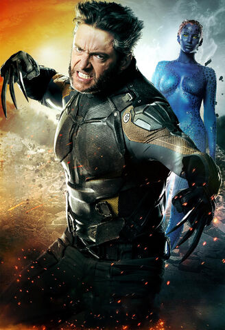 File:X-Men. Days of Future Past poster textless Wol-Mystique.jpg