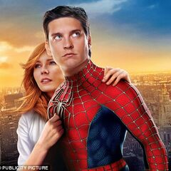 Promotional image of Peter with Mary Jane.