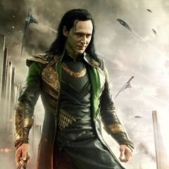 International Poster of Loki.