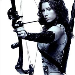 <i>Blade: Trinity</i> poster featuring Abigail Whistler.