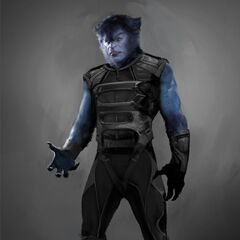 Concept art for Beast in <i>X-Men: Days of Future Past</i>.