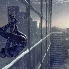 Concept art for Black Spider-Man.