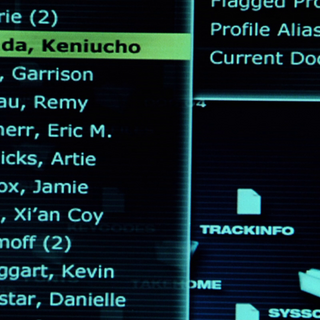 Harada's name highlighted