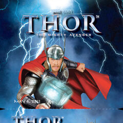 Promotional Material for <i>Thor</i>.