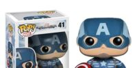 Pop Vinyls: Captain America: The Winter Soldier