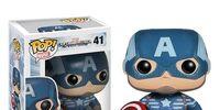 Pop Vinyls: Captain America: The Winter Soldier