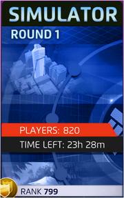 Simulator Round 1