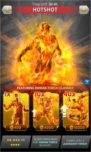 Hotshot (Season XXI) Offer