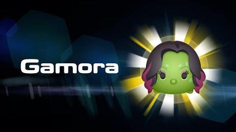 Gamora Skills Intro MARVEL Tsum Tsum