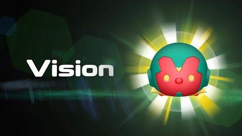 Vision Skills Intro MARVEL Tsum Tsum