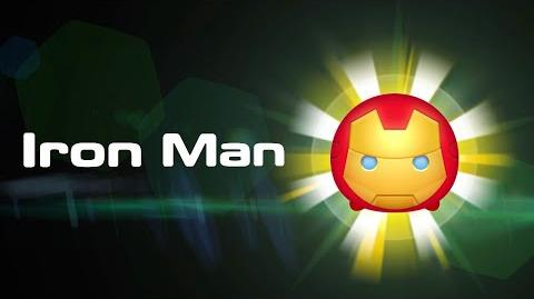Iron Man Skills Intro MARVEL Tsum Tsum