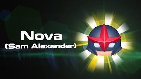 Nova (Sam Alexander) Skills Intro MARVEL Tsum Tsum