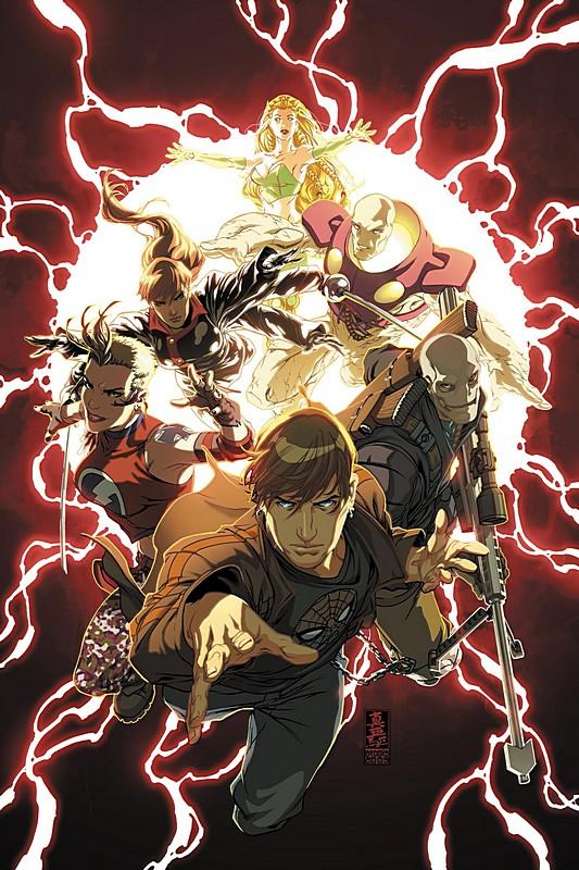 Dark Reign Young Avengers Vol 1 1 Textless