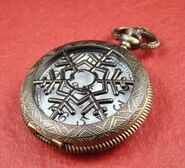 Snow pocket watch