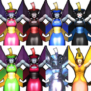 Hsien-Ko colors and dlc costume