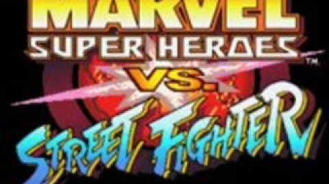 Marvel Super Heroes Vs Street Fighter-Theme of Hidden Character