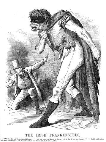 File:Punch Anti-Irish propaganda (1882) Irish Frankenstein.jpg