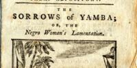 "Hannah More and Eaglesfield Smith, ""The Sorrows of Yamba; or, The Negro Woman's Complaint"" (1797)"