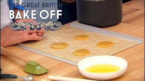 How to Make Home-Made Brandy Snaps - The Great British Bake Off