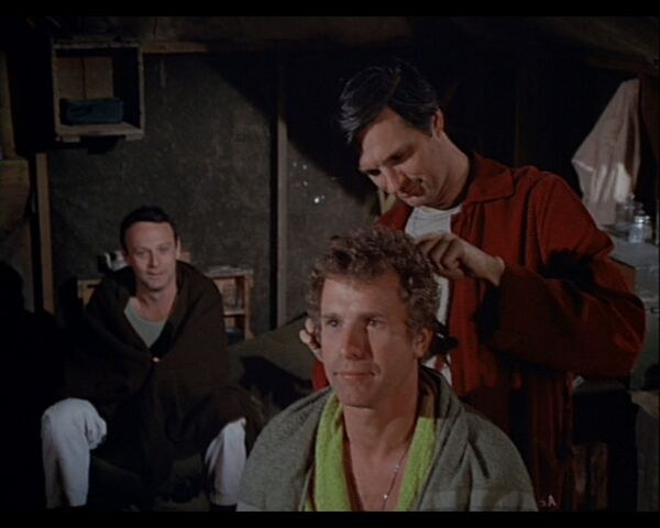 File:MASH Episode 3x15 Hawkeye on Trappers Hair.jpg