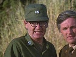 Capt. Allen and Hawkeye in Depressing News