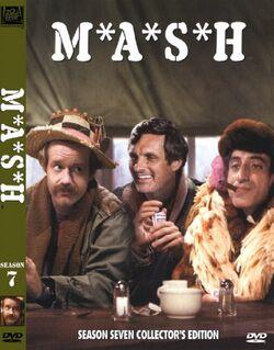 MASH Season 7 DVD cover