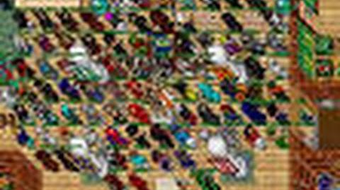 Tibia Masiyah Event Creature SO MANY PEOPLE!!!