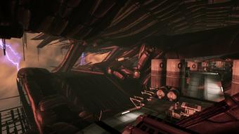 Derelict reaper - alien geometries