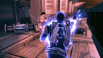 Eden Prime - bombsite mayhem