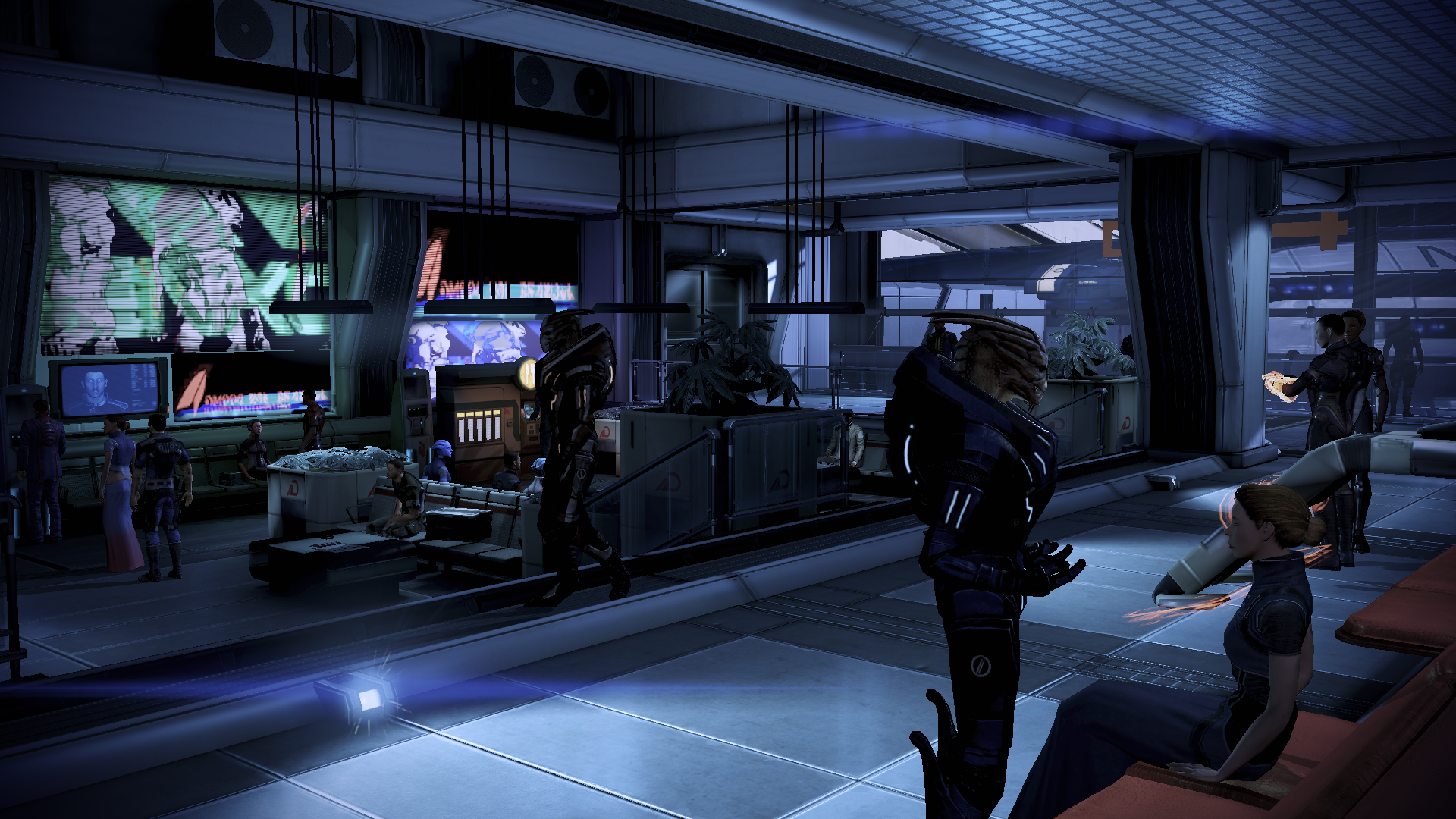 Normandy Dock Bay D24 Mass Effect Wiki Fandom Powered