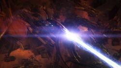 Omega-4 Thanix Firing