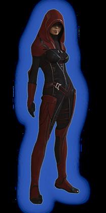 ME2 Kasumi Loyal Outfit