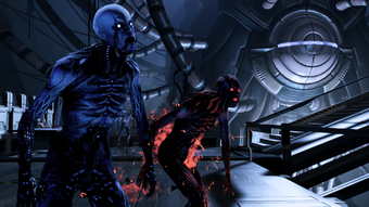 Derelict reaper - core husks