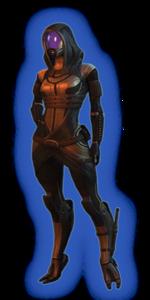 ME2 Tali Alt Outfit